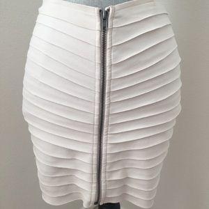 Ivory Mini Skirt